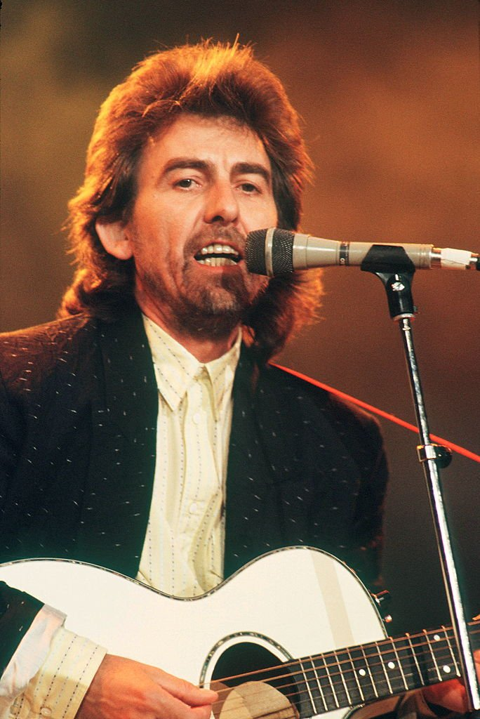 George Harrison performs on stage at Prince's Trust concert | Getty Images / Global Images Ukraine