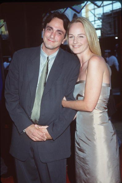 Hank Azaria and Helen Hunt, circa 1999.   Photo: Getty Images