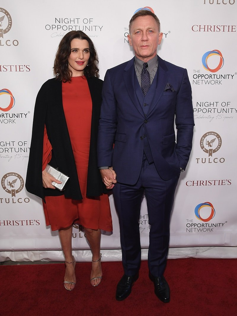 Rachel Weisz and Daniel Craig on April 9, 2018 in New York City | Photo: Getty Images