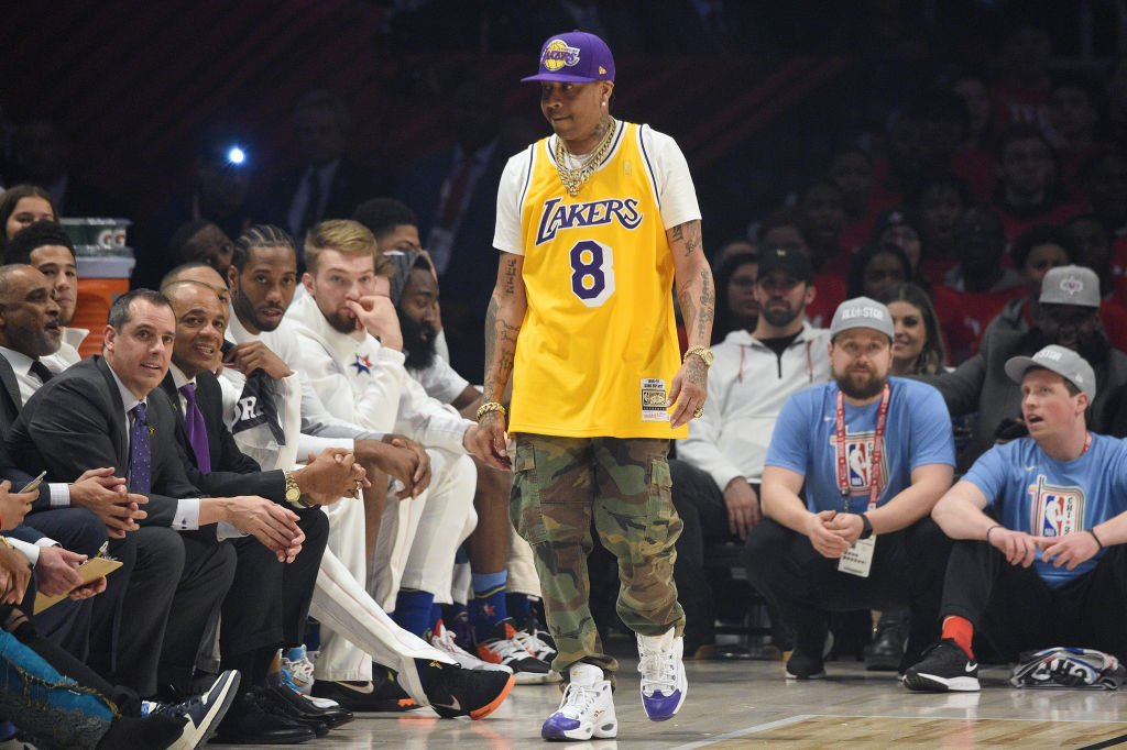 Allen Iverson attends the 69th NBA All-Star Game at United Center on February 16, 2020. | Photo: Getty Images