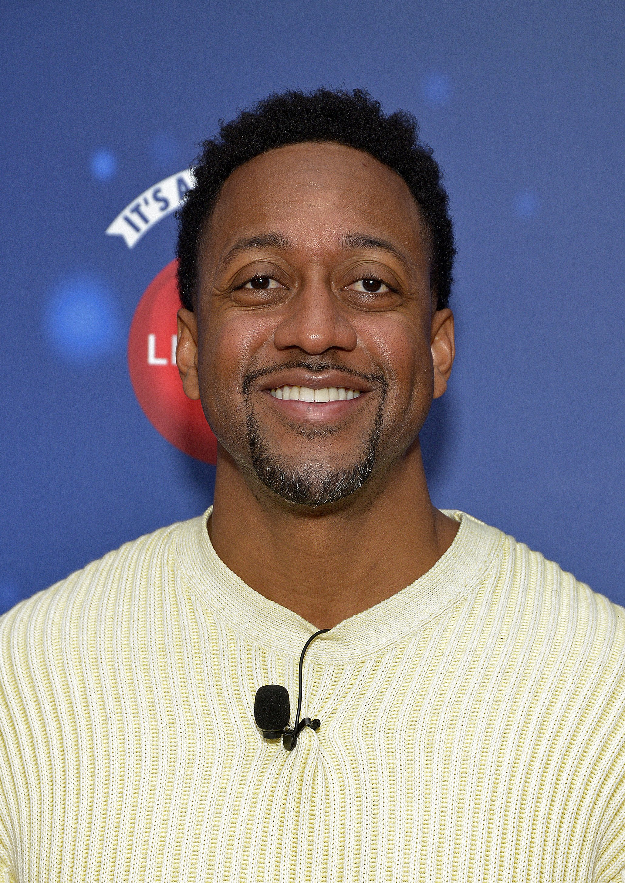 """Actor Jaleel White attends Say """"Santa!"""" with It's A Wonderful Lifetime photo experience at Glendale Galleria on November 09, 2019  