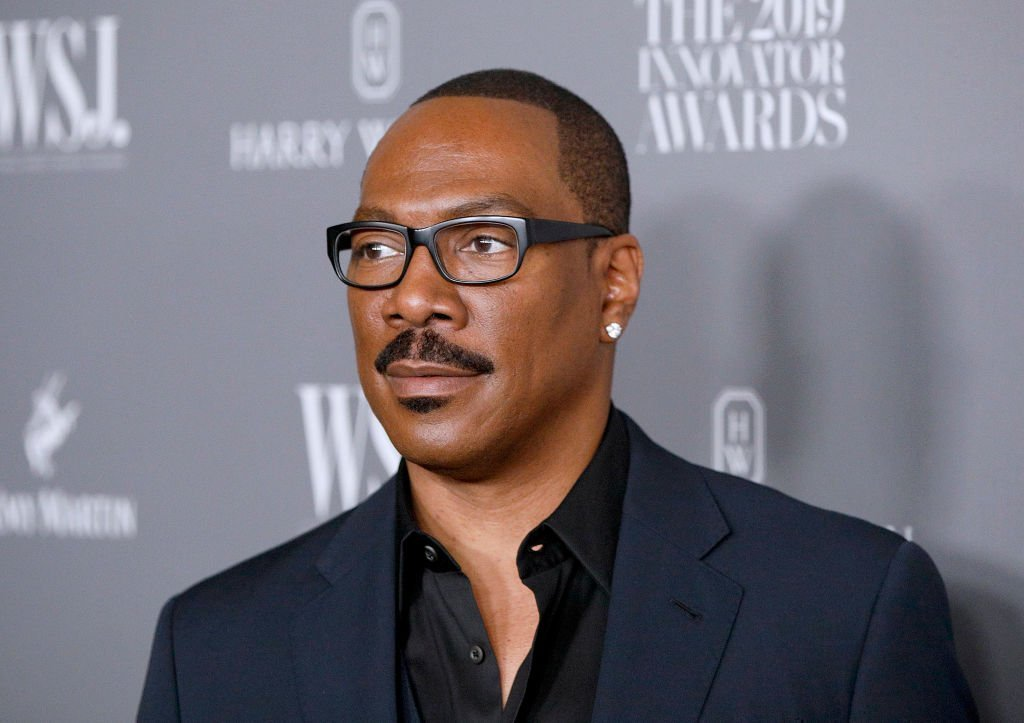 Eddie Murphy speaks onstage during WSJ. Magazine 2019 Innovator Awards Sponsored By Harry Winston And Rémy Martin at MOMA | Photo: Getty Images