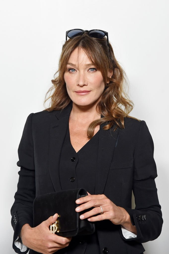 Carla Bruni, septembre 2019, Londres. | Photo : Getty Images