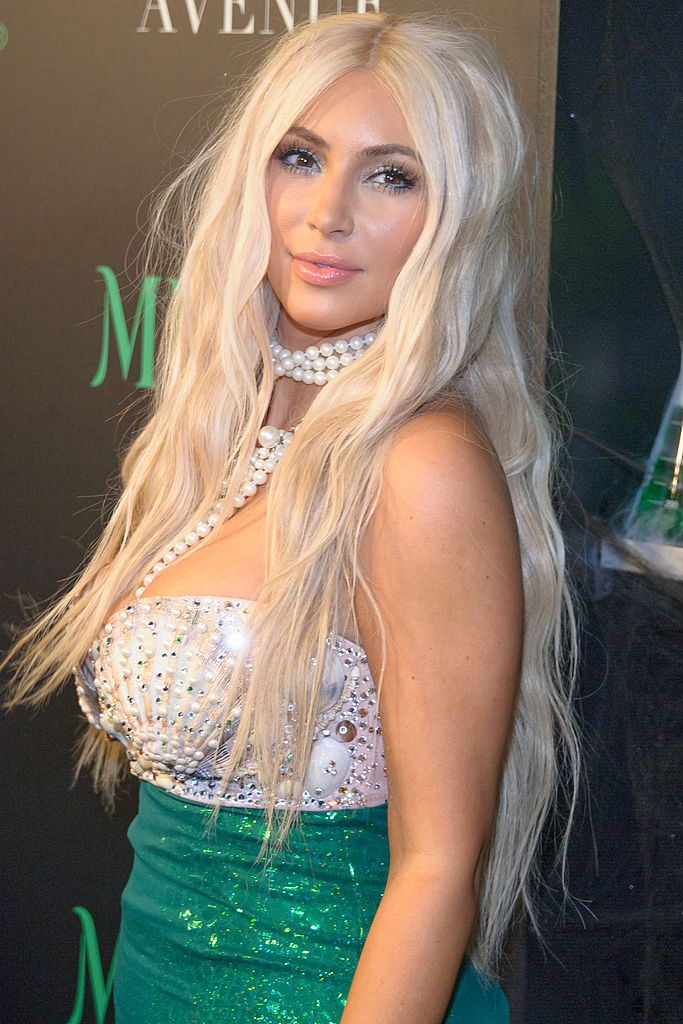 Kim Kardashian attending the 2nd annual Midori Green Halloween Party on October 27, 2012 in New York.   Photo: Getty Images