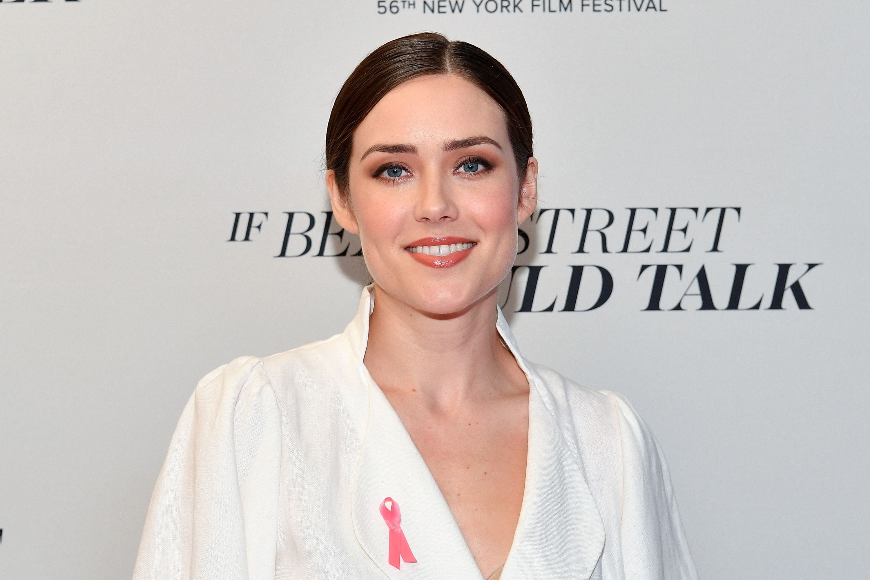 """Megan Boone at the premiere of """"If Beale Street Could Talk"""" at the 56th New York Film Festival in 2018 
