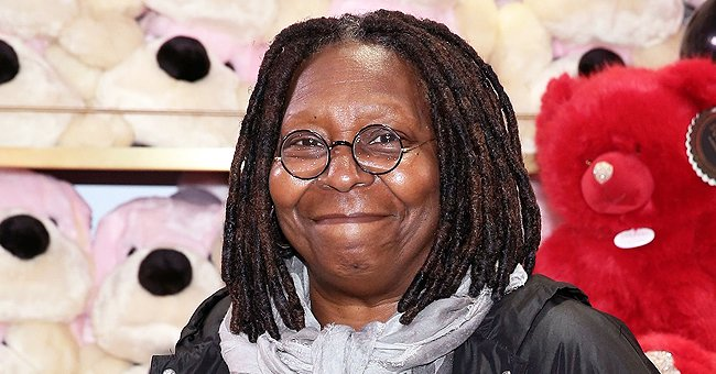 Whoopi Goldberg's Great-Granddaughter Shows Ponytails & Brown Eyes at Her B-Day Party with Mom
