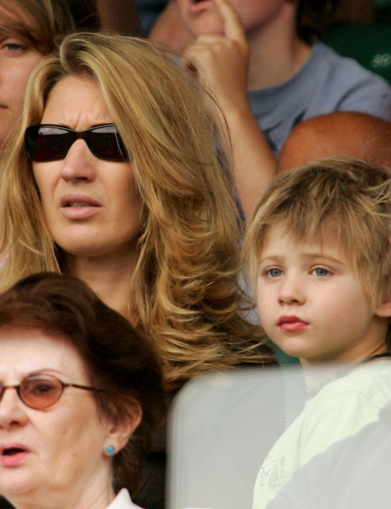 Jaden Agassi, Steffi Graf, 2006 | Quelle: Getty Images