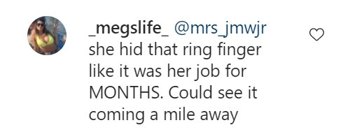 Some fan's reaction to Lindsie Chrisley and Will Campbell's divorce on Instagram   Photo: Instagram/lindsiechrisley