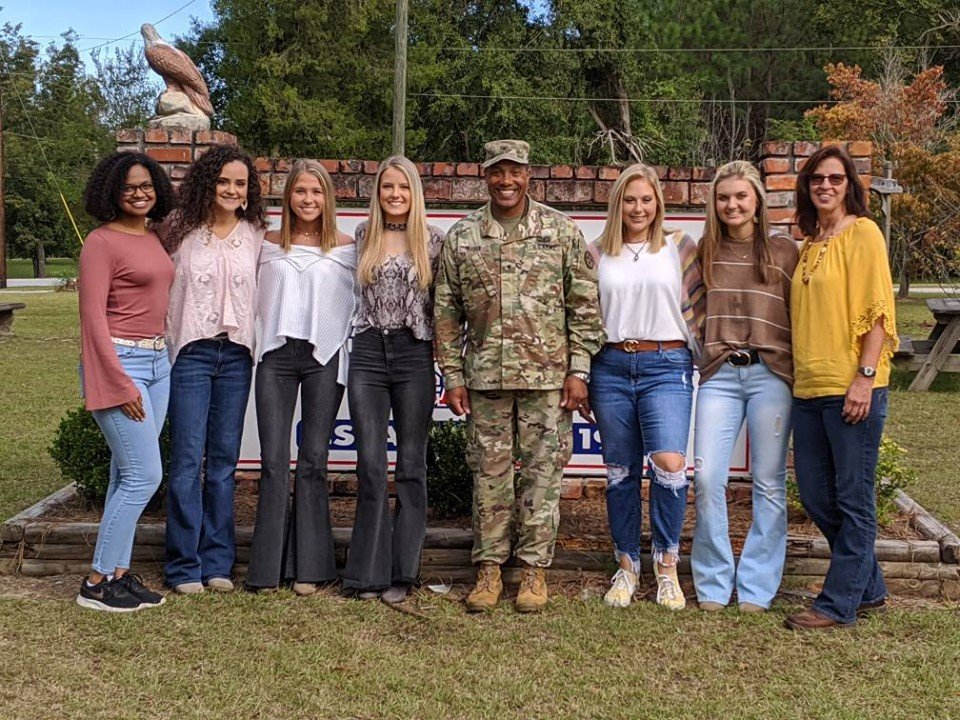 Vincent Buggs surprised the senior high school students of David Emmanuel Academy who comforted him through letters while deployed in Iraq for years. | Source: Facebook/davidemmanuelacademy