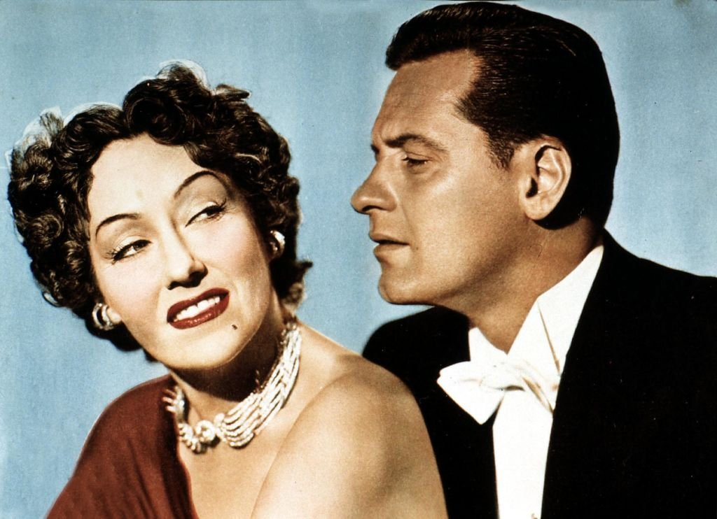 """Gloria Swanson and William Holden for the movie """"Sunset Boulevard""""   Photo: Getty Images"""