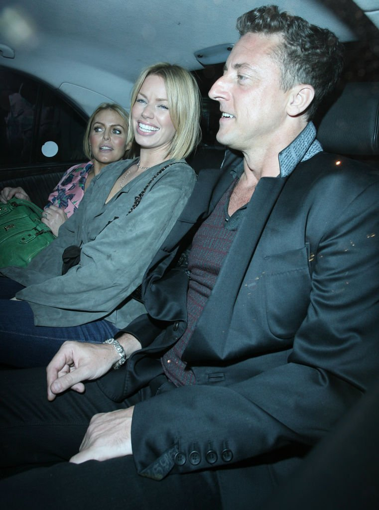 Patsy Kensit and Jeremy Healy left Nobu Berkeley restaurant on June 13, 2008 in London, England | Photo: Getty Images