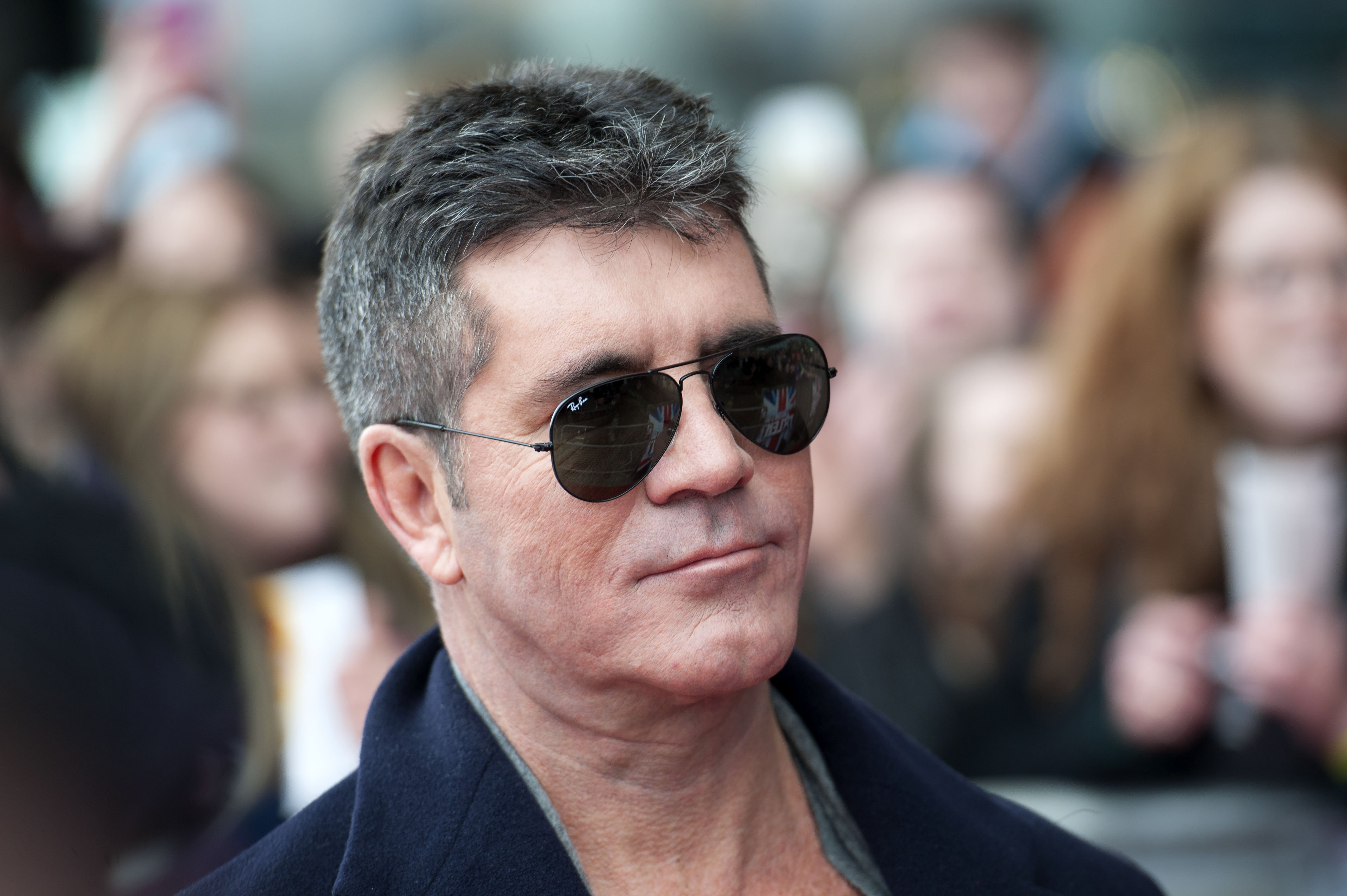Simon Cowell arrives at the Britain's Got Talent Cardiff auditions on January 23, 2014, in Cardiff, Wales. | Source: Getty Images.