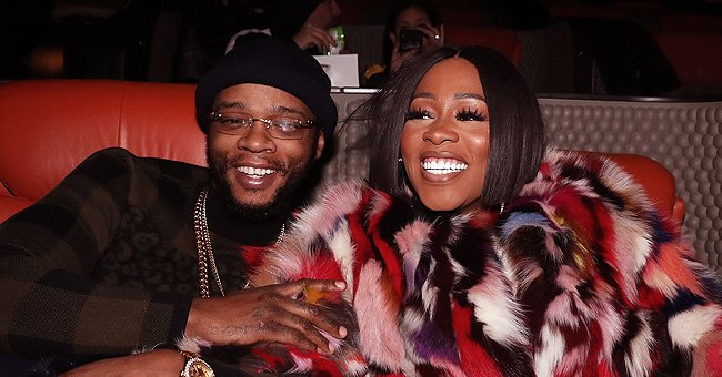 Remy Ma & Papoose Kiss Their Daughter Dressed in Pink Strawberry Print Dress in New Family Clip