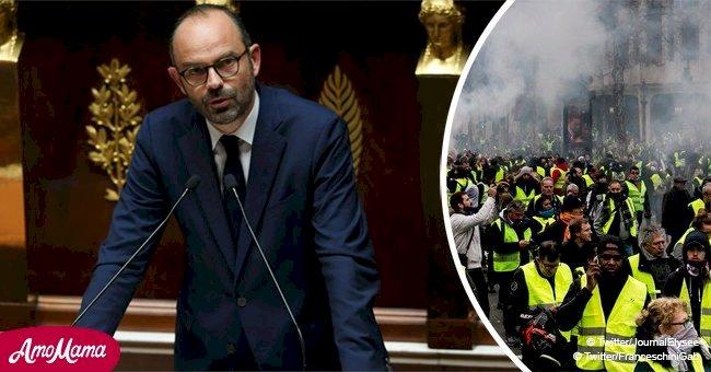 """""""Gilets jaunes"""": Le gouvernement abandonne certaines des mesures annoncées mi-novembre"""