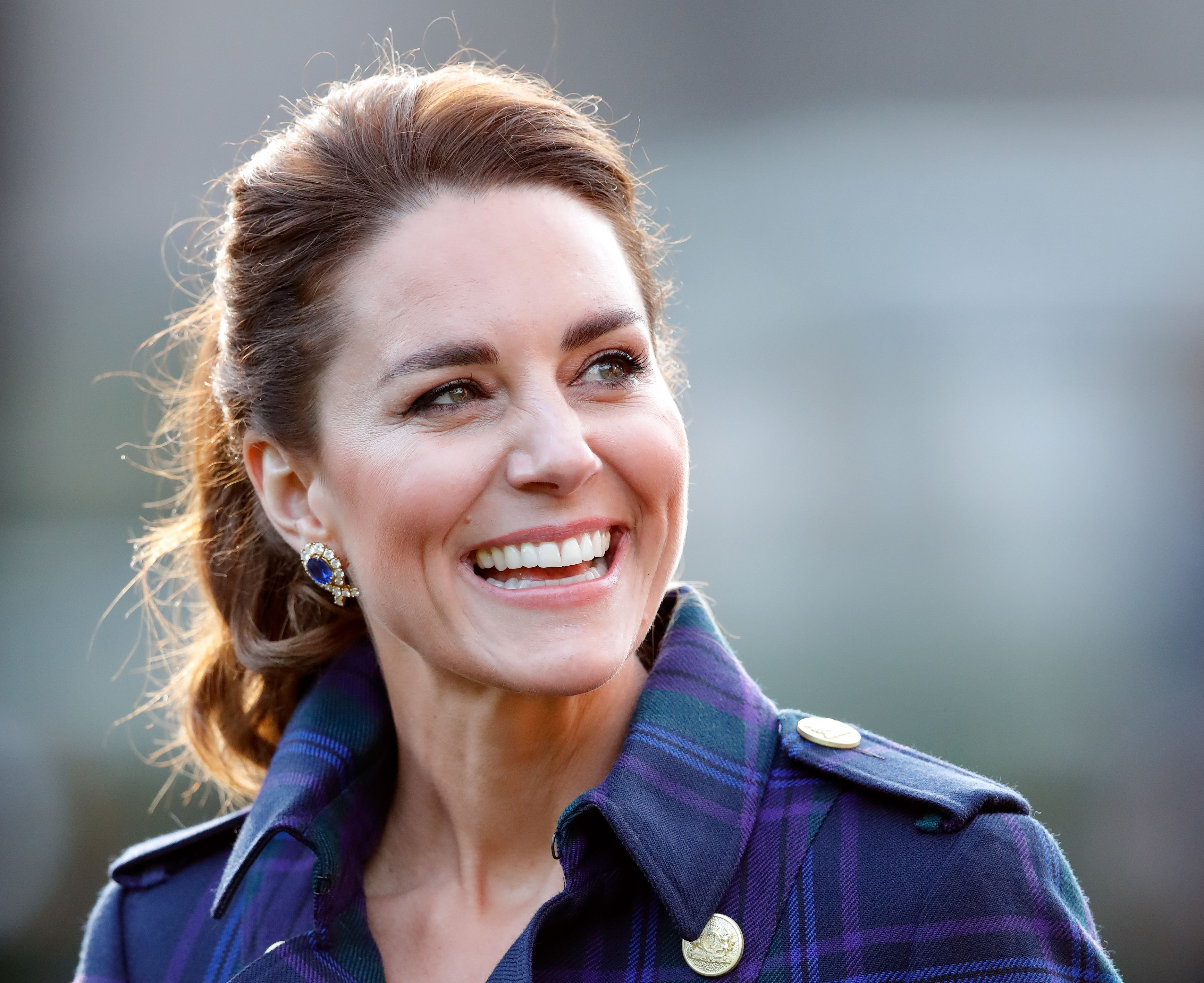 Kate Middleton  hosts a drive-in cinema screening of Disney's 'Cruella' for Scottish NHS workers at The Palace of Holyroodhouse on May 26, 2021 | Getty Images