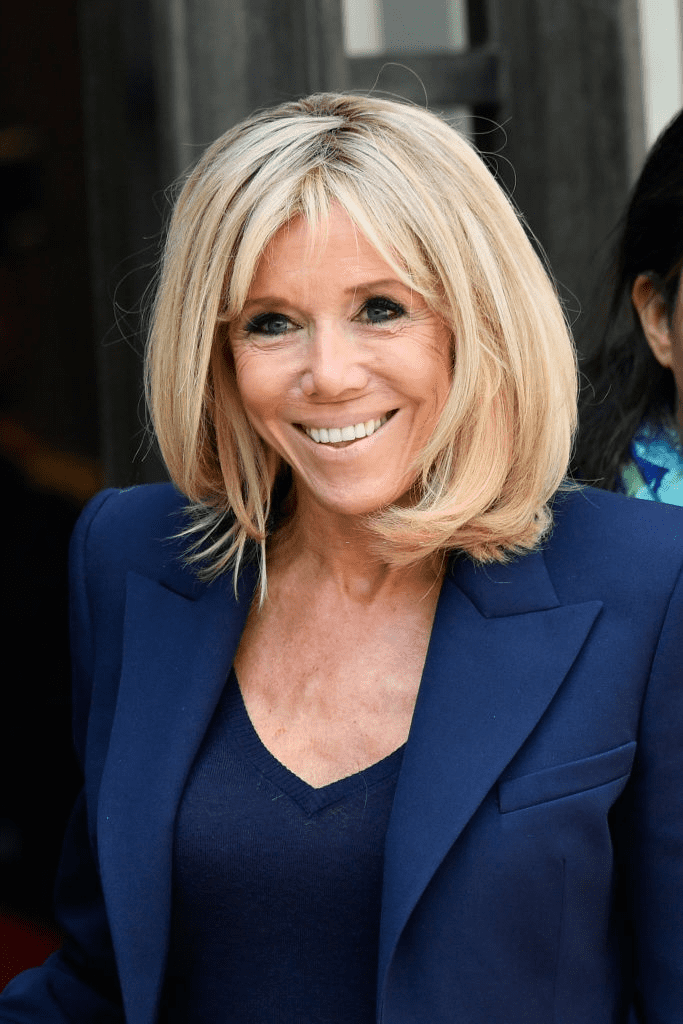 Brigitte Macron au Palais de l'Elysée, à Paris, France, le 23 mai 2018. | Photo : Getty Images