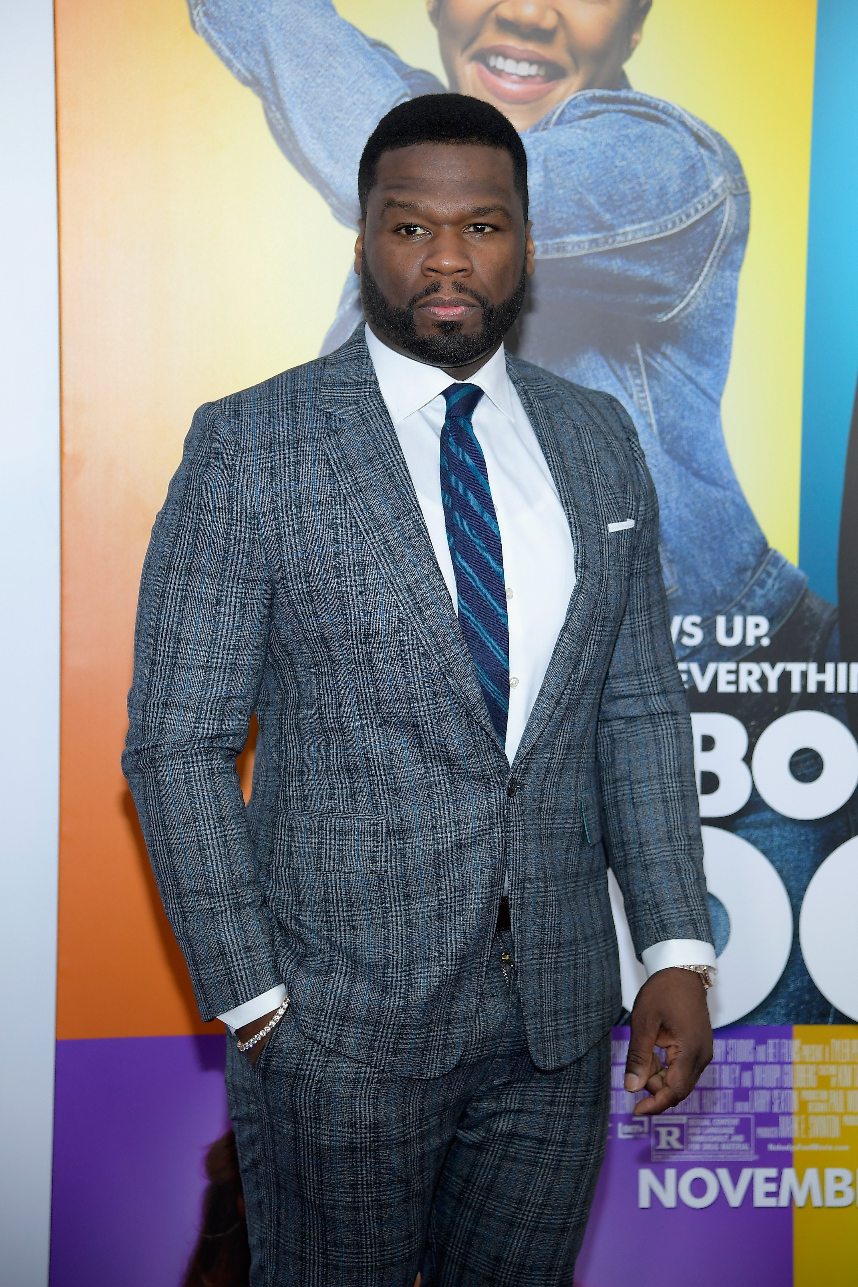 "Curtis ""50 Cent"" Jackson at the world premiere of 'Nobody's Fool' on Oct. 28, 2018 in New York 