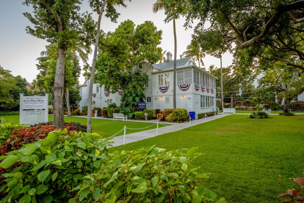A view of the Truman Little White House. The museum that once served as President Harry S. Truman's winter White House in Key West, Florida, image taken on December 2018 |Photo: Shutterstock/Roberto La Rosa
