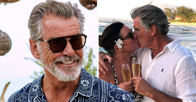 Pierce Brosnan Gushes over Wife Keely Shaye as They Celebrate His 67th Birthday in a Post