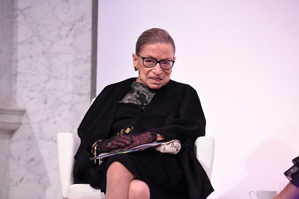 Ruth Bader Ginsburg at the 2020 DVF Awards on February 19, 2020 in Washington, DC. | Photo: Getty Images