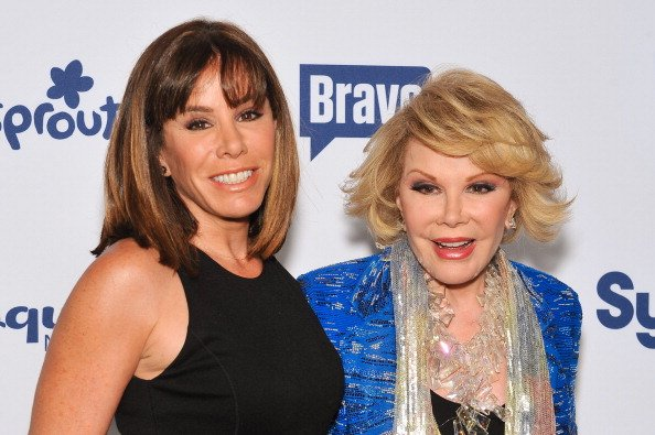 Joan Rivers and daughter Melissa Rivers attend the 2014 NBCUniversal Cable Entertainment Upfronts at The Jacob K. Javits Convention Center in New York City. | Photo: Getty Images