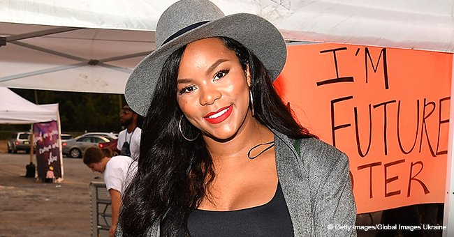 LeToya Luckett Shares First Look At Newborn Daughter Gianna Who Looks Just Like Her