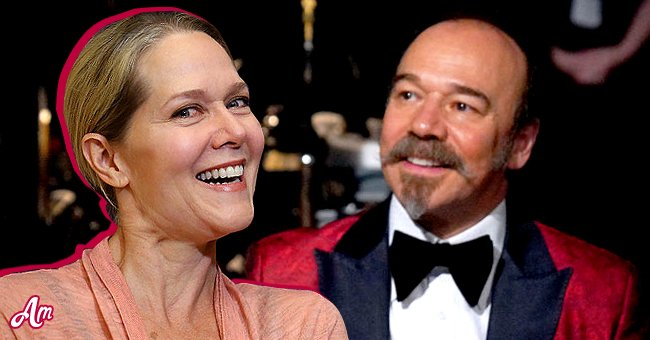 Danny Burstein and his wife of 20 years Rebecca Luker.   Source: Getty Images