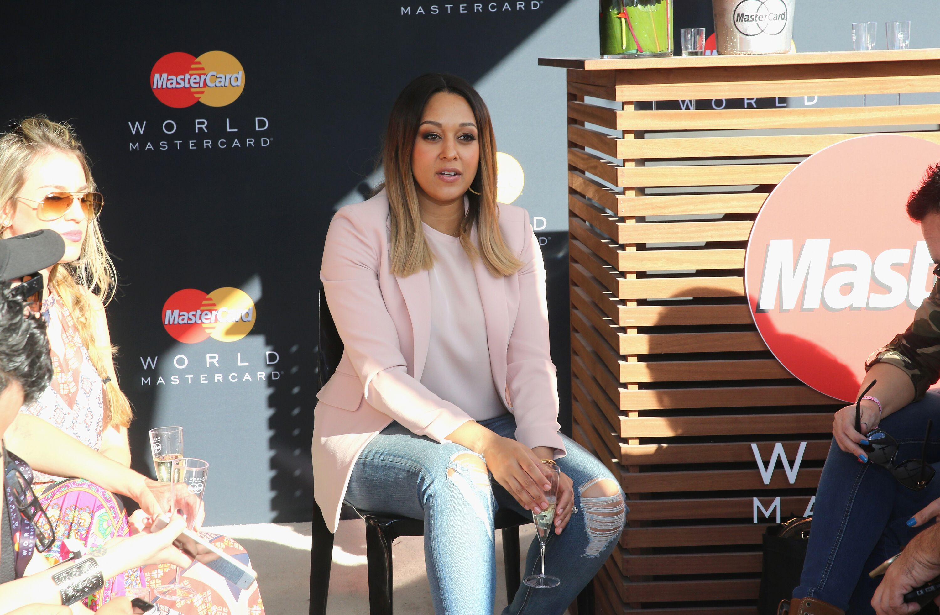Tia Mowry attends the Goya Foods Grand Tasting Village at Grand Tasting Village on February 28, 2016 in Miami Beach, Florida. | Source: Getty Images
