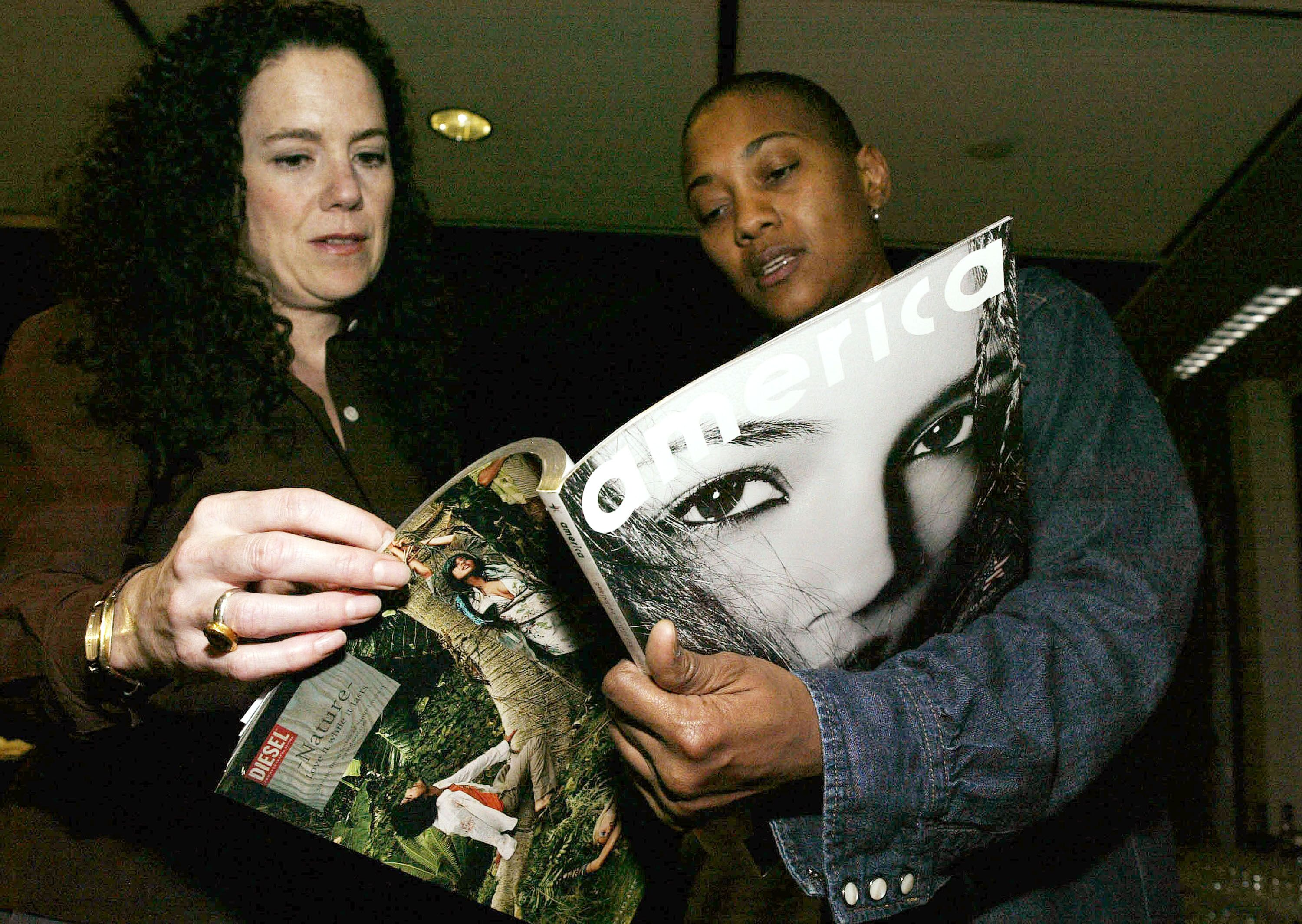 Author and Whitney Houston's best friend Robyn Crawford/ Source: Getty Images