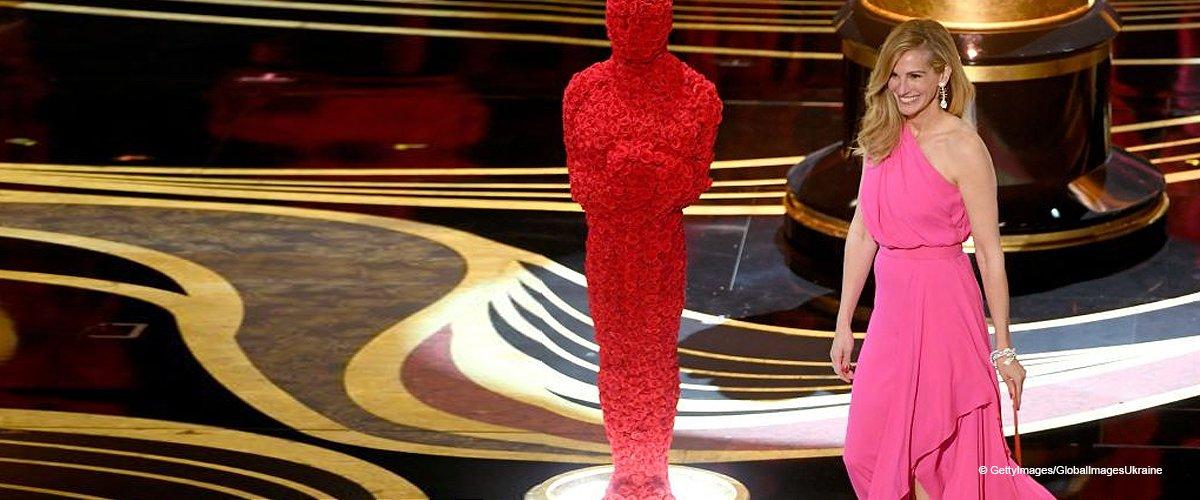 Julia Roberts sah bei ihrem Überraschungsauftritt bei den Oscars unglaublich aus