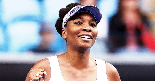 Venus Williams Stuns in a New Photo Shoot Showing Toned Abs in a Tight Outfit with Color Panels
