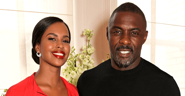 Idris Elba's Wife Sabrina Wows in Yellow Dress & White Heels as She Poses on Stairs in Photo