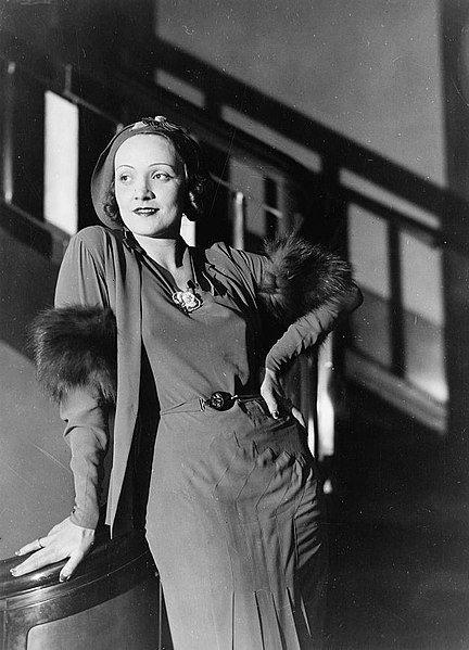 Marlene Dietrich | Quelle: Wikimedia Commons