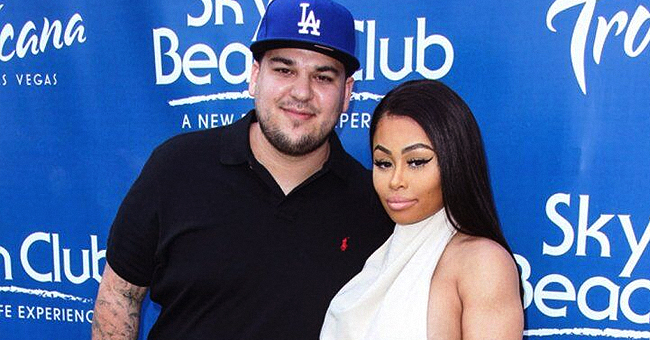 Rob Kardashian and Blac Chyna's Daughter Dream Poses Next to $262K Ferrari Just like Her Mom