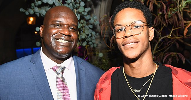 Shaquille O'Neal shares the joke he told his son before the 18-year-old had heart surgery