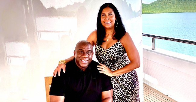 Magic Johnson's Wife Cookie Shares Sweet Pics Showing How They Welcomed the New Year on a Yacht