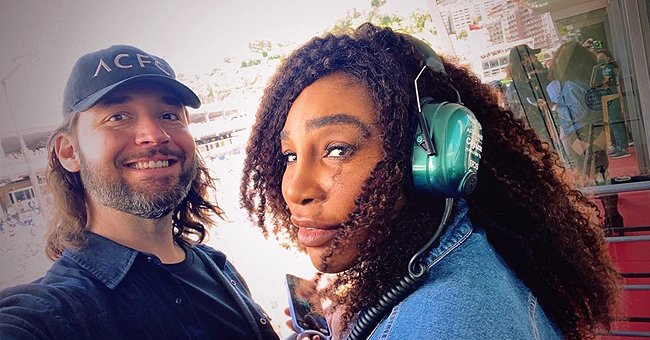 Serena Williams Dons a Sleeveless Top & Checkered Skirt in Monaco Pics with Her Husband Alexis Ohanian
