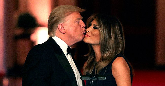 Donald Trump Wishes Wife Melania Happy 50th Birthday Calling Her a Great First Lady