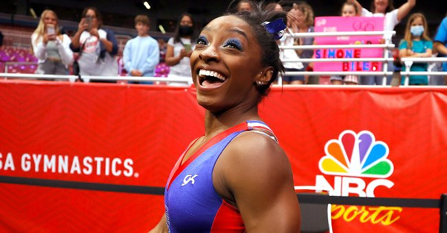 Simone Biles Is All Smiles as She Declares Day 1 of Her Olympic Trials a 'Success'