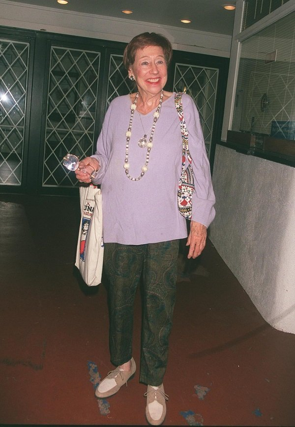 Jean Stapleton on September 27, 2000 in Beverly Hills, CA | Source: Getty Images