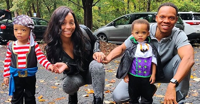 Fans Say Ronnie Devoe's Twins Stole Their Parents Faces in a Recent Photo