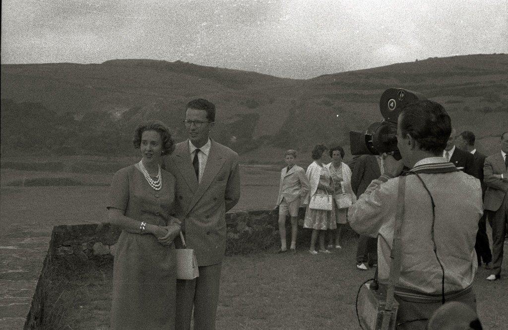 Balduino y Fabiola en la localidad de Zarautz. | Imagen tomada de: Wikimedia Commons