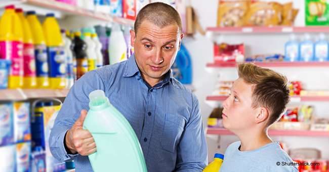 Joke: A Young Boy Goes to Buy Laundry Detergent