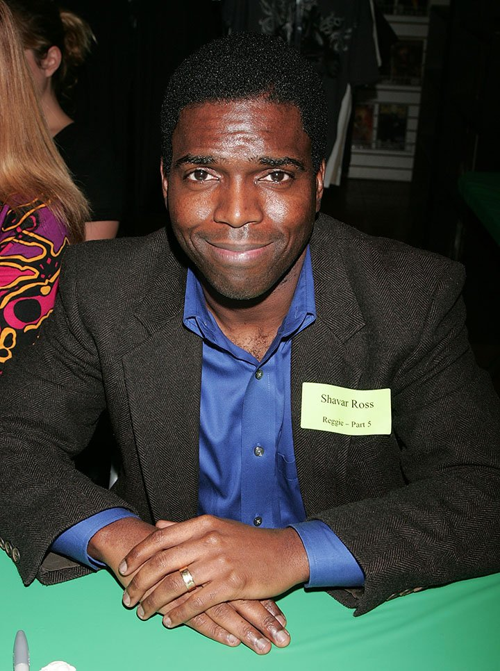 Shavar Ross attends Anchor Bay Entertainment's Jason Voorhees reunion at Emerald Knights comics and games store on February 3, 2009 in Burbank, California. I Image: Getty Images.