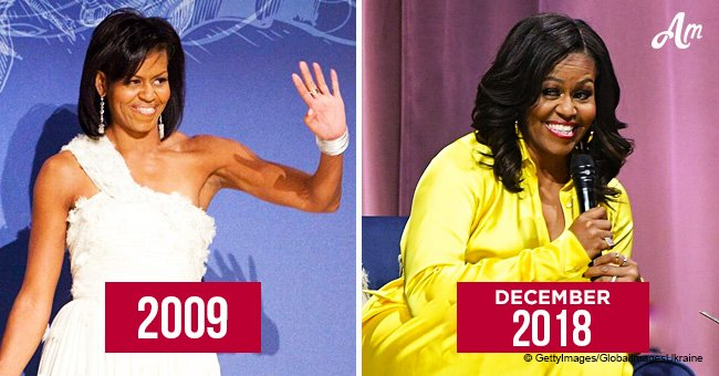 Happy 55th birthday to Michelle Obama! Throwback photos reveal her elegance through the years