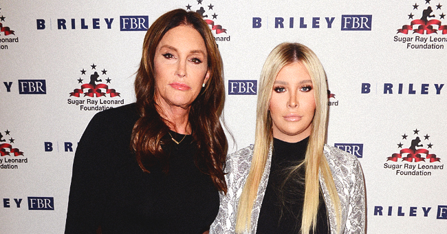 Caitlyn Jenner Attends Sugar Ray Leonard's Charity Boxing Bash with Sophia Hutchins