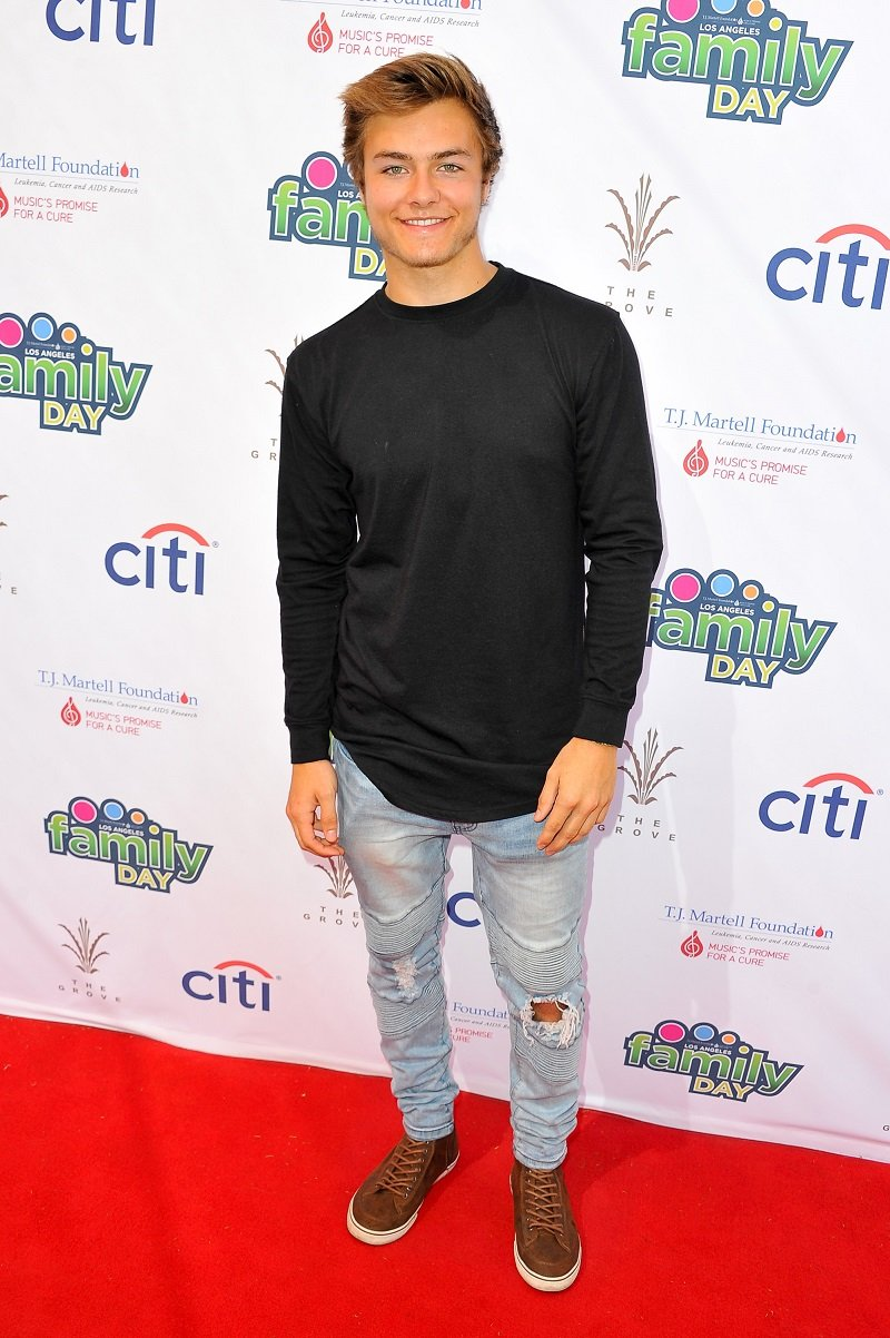 Peyton Meyer on October 9, 2016 in Los Angeles, California | Photo: Getty Images