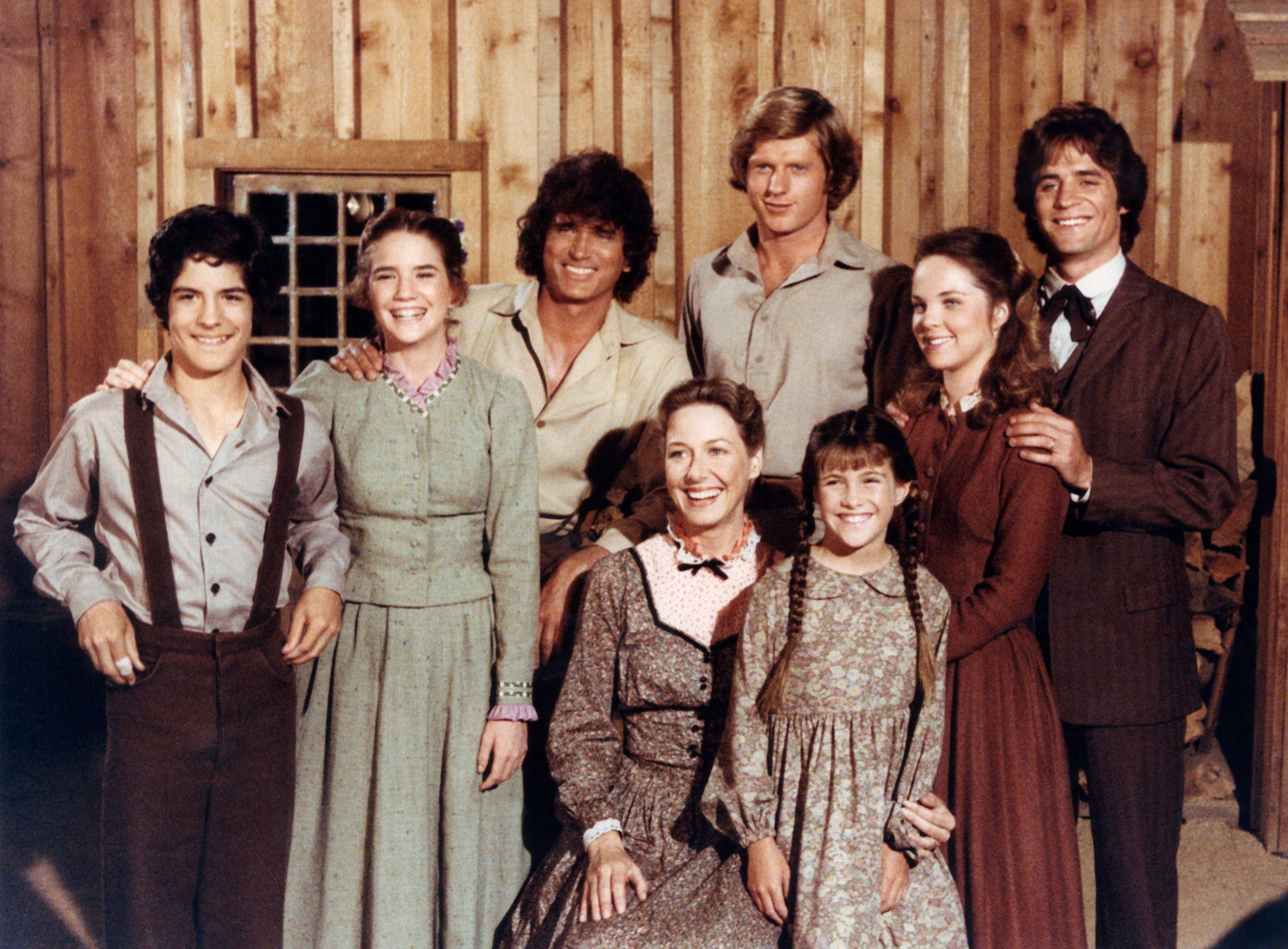 """The cast of. """"Little House on the Prairie"""" during Season 7 on July 26, 2007 