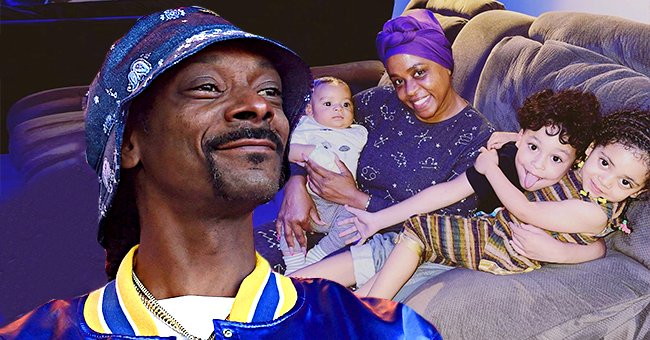 See Snoop Dogg's Wife Shante Broadus Doting on Their Three Look-Alike Grandkids in This New Photo
