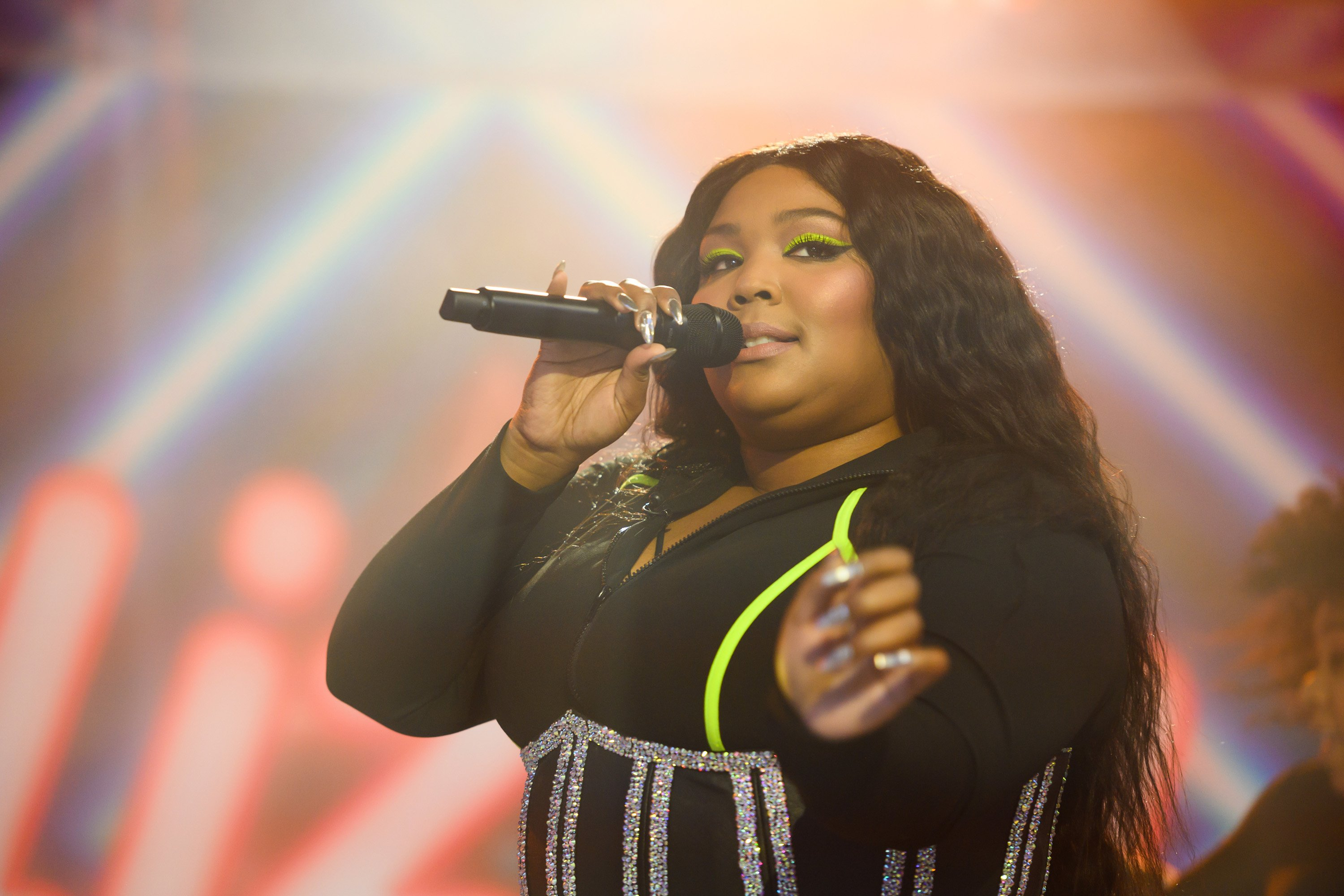 Lizzo performing live on The Today Show on Thursday, April 11, 2019| Photo: Getty Images